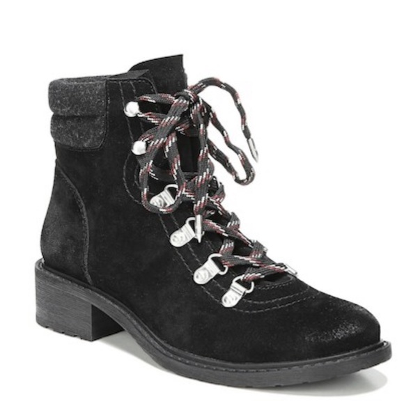 ec89d1f8c1ad Sam Edelman Darrah Lace Up Boot Size 7.5